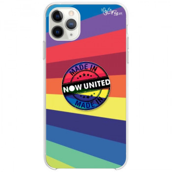 Capinha de Celular Made in Now United + Pop Socket Made in Now United