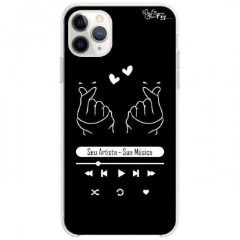 Capinha de Celular Personalizada  K-Pop Player Dark